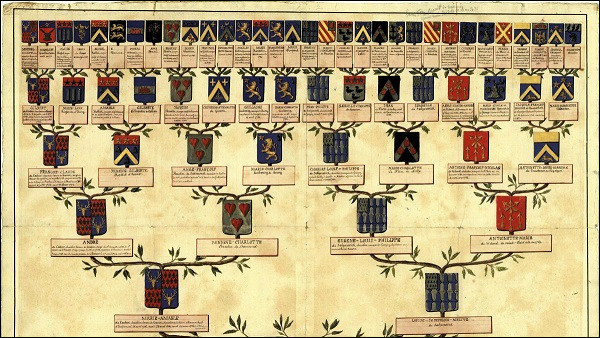En France, on peut raisonnablement espérer remonter jusqu'à la fin de quel siècle pour la plupart des branches de son arbre ?