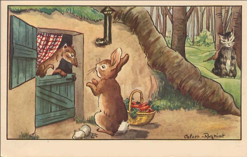 On finit avec une fable de notre enfance !