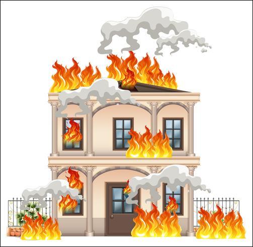 Et enfin, la maison de ton ami brûle, que fais-tu ?