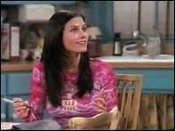 Quelle est la particularité du voisin en face de l'appartement de Monica ?
