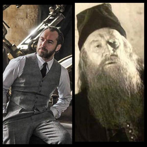 Quelle est la différence entre ces deux Dumbledore ?