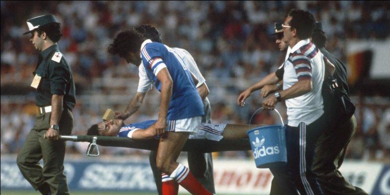 Qui est cet ancien joueur français ? (petit indice : ce joueur fut victime d'un attentat du gardien allemand Schumacher durant la CDM 1982)