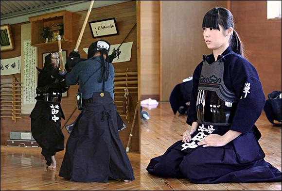 """Quel art martial, dont le nom signifie littéralement """"la voie du sabre"""", a été pratiqué autrefois par les samouraïs japonais ?"""