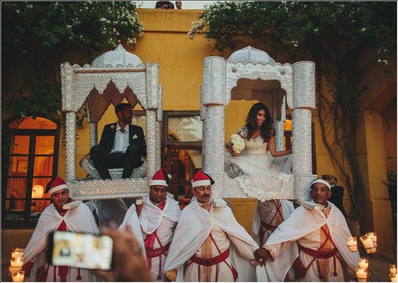 Le mariage oriental est l'autre nom du mariage musulman :