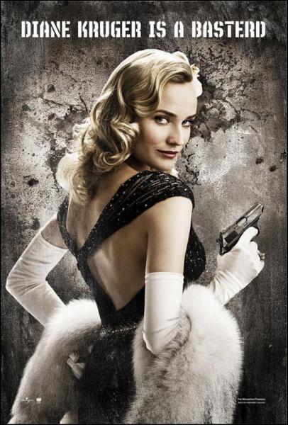 Quel personnage est joué par Diane Kruger ?