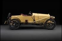 Quelle est cette voiture de sport de 1912, qui était une des plus chères du monde et l'une des meilleures par ses qualités mécaniques et son style ?