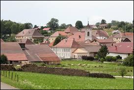 Commune Doubienne, Chapelle-d'Huin se situe en région ...