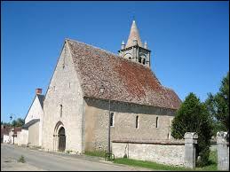 Voici l'église Saint-Laurent de Primelles. Commune Berrichonne, elle se situe en région ...