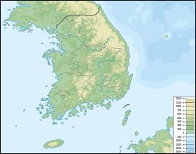 Géographie - Comment s'appelle l'île située au Sud-Ouest de la Corée du Sud ?