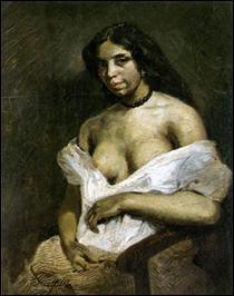 """Qui a peint """"Une femme mulâtre"""" ?"""
