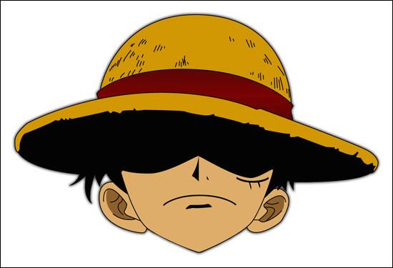 Dans lequel de ces animés retrouve-t-on ce chapeau de paille ?