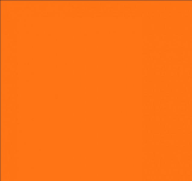 Comment dit-on la couleur orange en anglais ?