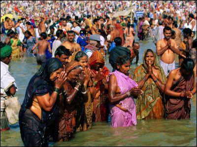 De quelle religion majoritaire en Inde, le shivaïsme et le vishnouisme sont-ils des courants ?