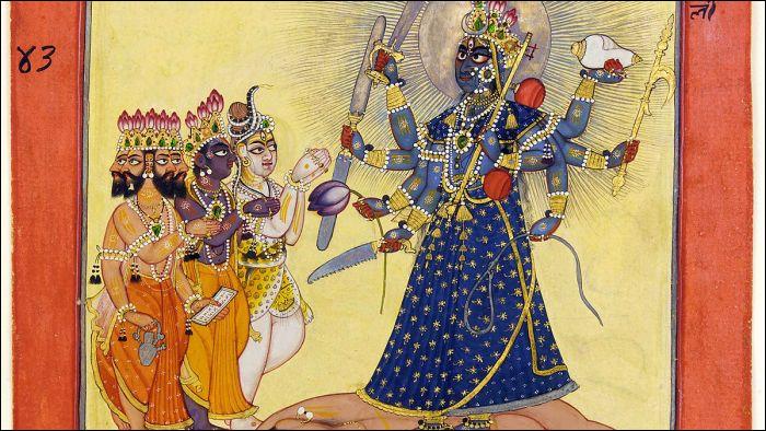 De quelle religion synthétique, les tantras constituent-ils l'ensemble des textes cultuels ?