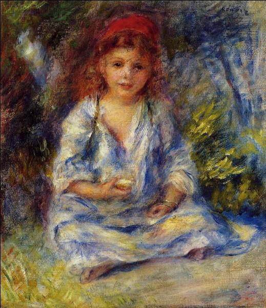 """Qui a représenté """"La Petite Fille algérienne"""" ?"""