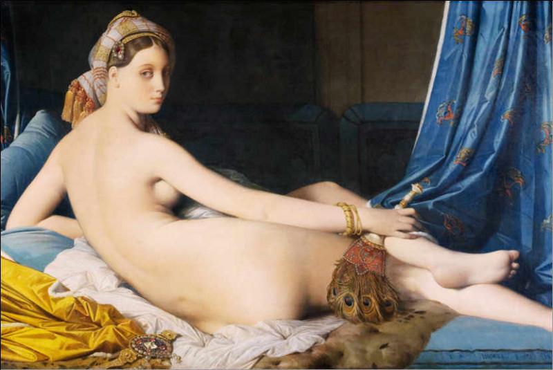 "Qui a peint ""La Grande Odalisque"" ?"