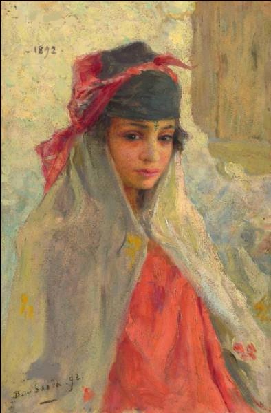 """Qui a peint la toile """"Fille de Boussaeada, Alger"""" ?"""