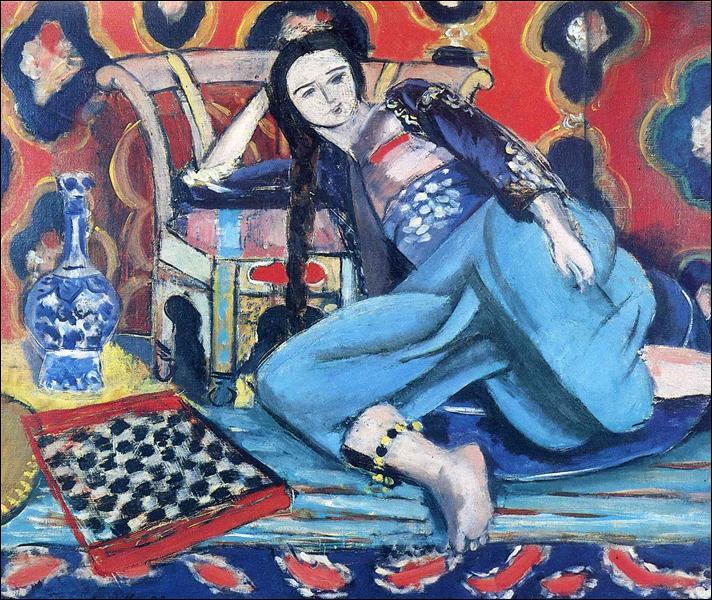 """Qui a peint """"Odalisque avec une chaise turque"""" ?"""