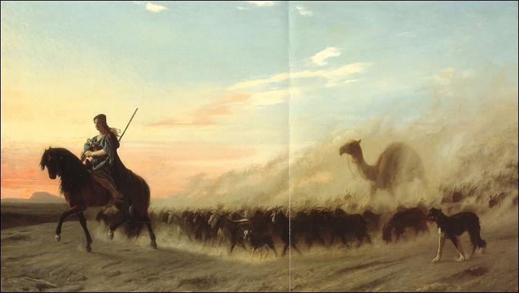 """Qui a peint """"Le berger syrien"""" ?"""