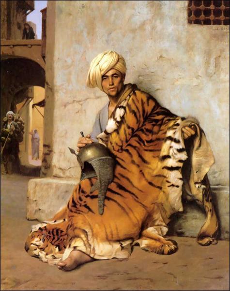 """Qui a peint """"Marchand de peaux du Caire"""" ?"""