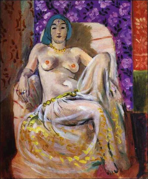 """Qui a peint """"Odalisque assise"""" ?"""