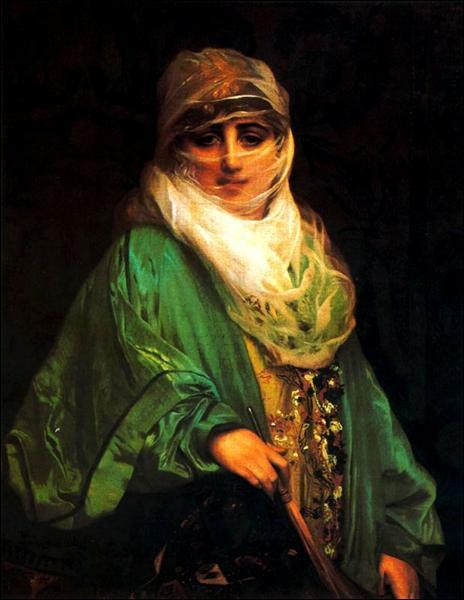"""Qui a peint """"Femme de Constantinople"""" ?"""