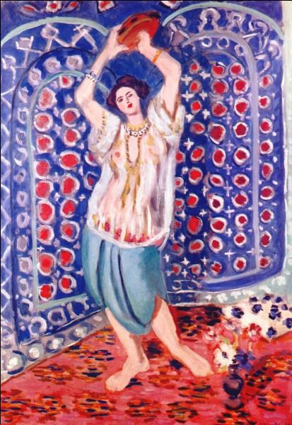 """La toile représentée est une """"Odalisque"""" d'Henri Matisse. Parmi ces peintres, lequel n'est pas un peintre orientaliste ?"""