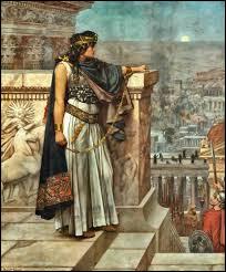 Elle fut impératrice d'Orient, épouse d'Odénat prince de Palmyre :