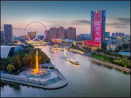Saurez-vous situer la ville portuaire Tianjin ?