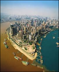 Chongqing est une municipalité étendue du sud-ouest de la :