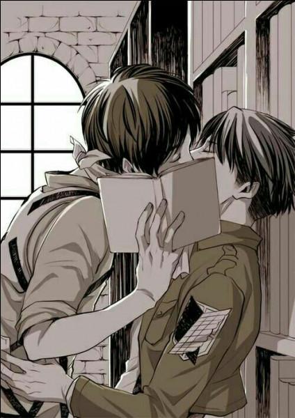 À un moment, Kenny dit avoir retrouvé sa sœur alors qu'elle était enceinte donc si Livai et Mikasa sont cousins Kenny est leur...