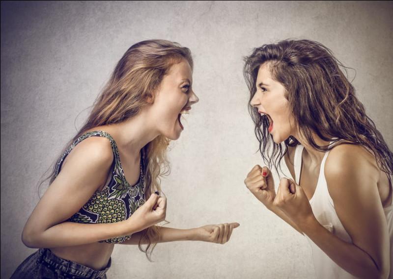 Que penses-tu des disputes d'amitié ?