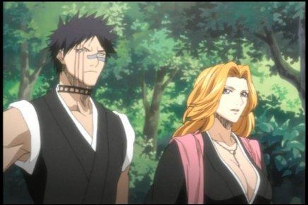 De quelle division le personnage de gauche (Hisagi Shuubei) est-il le vice-capitaine ?