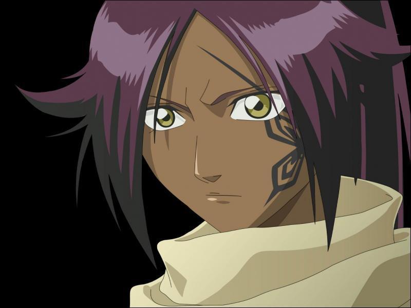 Qui infligea cette étrange blessure sur le côté du visage de Yoruichi ?