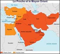 Le Proche et le Moyen-Orient sont situés au carrefour de trois des cinq continents : de quoi sont-ils une réserve mondiale ?