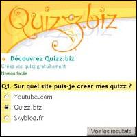 Règlement sur Quizz.biz