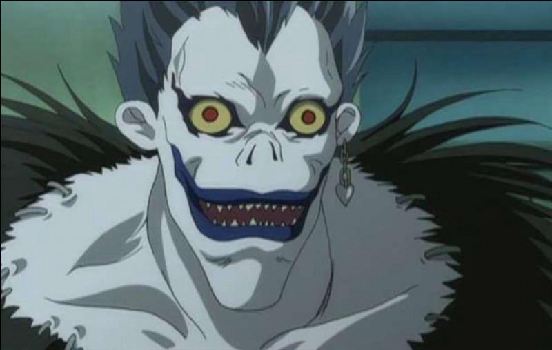Les Shinigami sont présents dans certains animes. Voici un exemple : je vous présente Ryuk de 'Death Note'. Voici la question : quelle personnification les Shinigami représentent-ils ?
