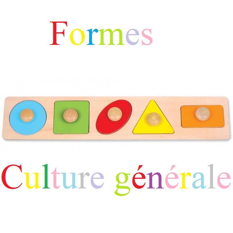 Culture générale en formes