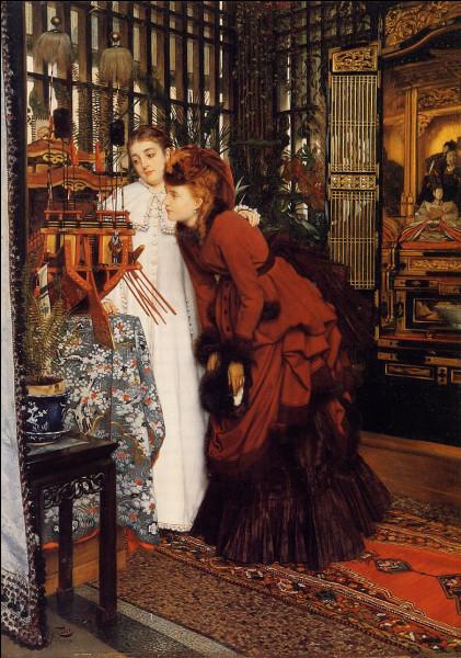 """Qui a peint ces """"Jeunes Femmes regardant des objets japonais"""" ?"""