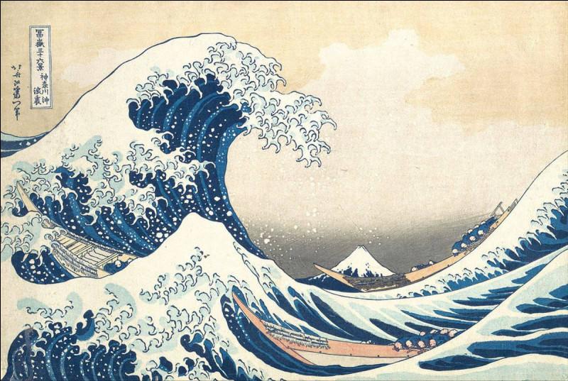 """Qui a peint """"La Grande Vague de Kanagawa"""" ?"""