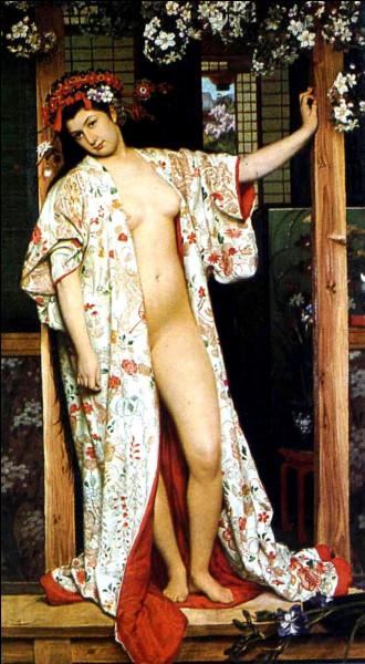 """Qui est le peintre de """"La Japonaise au bain"""" ?"""