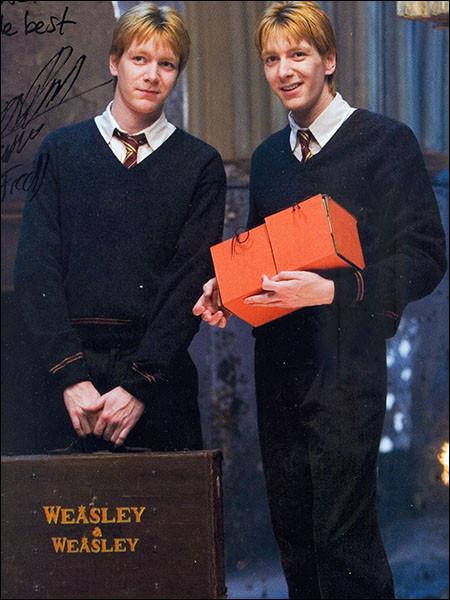Quel est le numéro du décret qui dit que les produits Weasley sont interdits ?