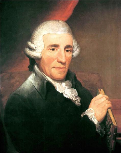 """Ce compositeur autrichien, qui incarne le classicisme viennois, surnommé """"père de la symphonie"""" ou """"père du quatuor à cordes"""", c'est ... Haydn."""