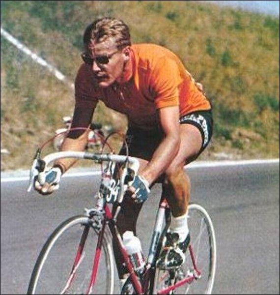 Ce cycliste néerlandais, champion du monde sur route en 1964, vainqueur du tour de France en 1968, c'est ... Janssen.