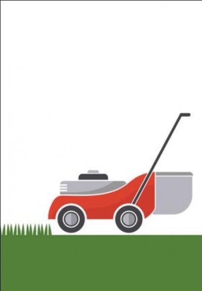 Je sers à tondre la pelouse.