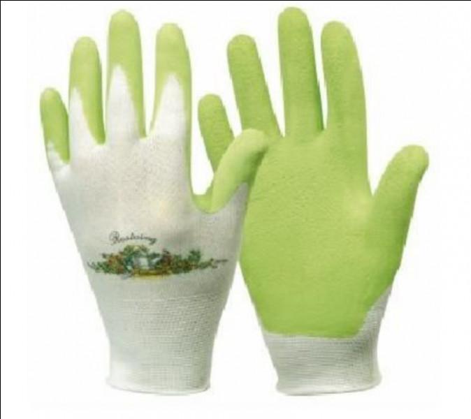 Je sers à protéger les mains pendant les travaux de jardinage ou autre.