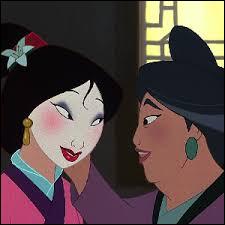 Comment se nomme la mère de Mulan ?