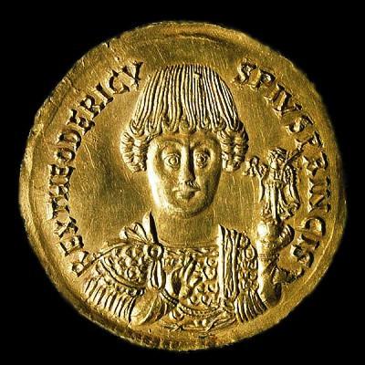Quel peuple germanique a eu pour roi Théodoric le Grand ?