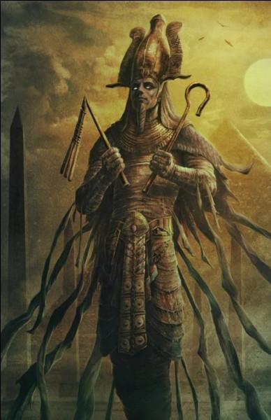 Roi mort divinisé, régnant sur le royaume des morts. Qui est-il ?