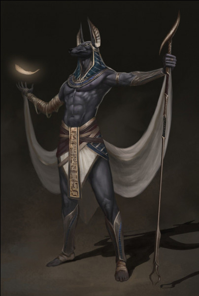 Seigneur des nécropoles, celui qui préside à l'embaumement. Qui est-il ?